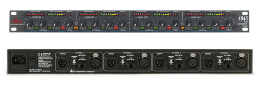dbx 1046 Compressor Limiter  4 Channel