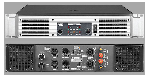 nts T 1000 Power Amplifier Sound System