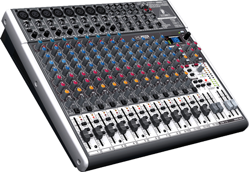 XENYX X2222 USB Mixer with Effects