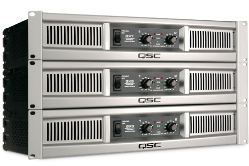qsc QSC GX3 Power Amplifier Sound System