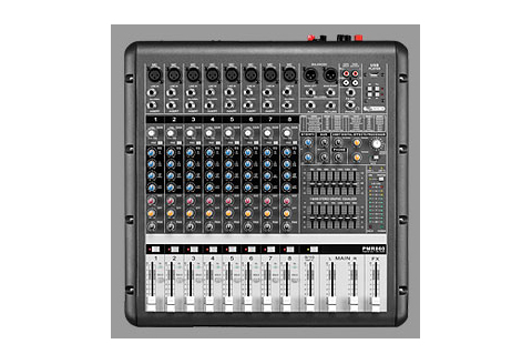 nts PMR 860 Power Mixer Sound System